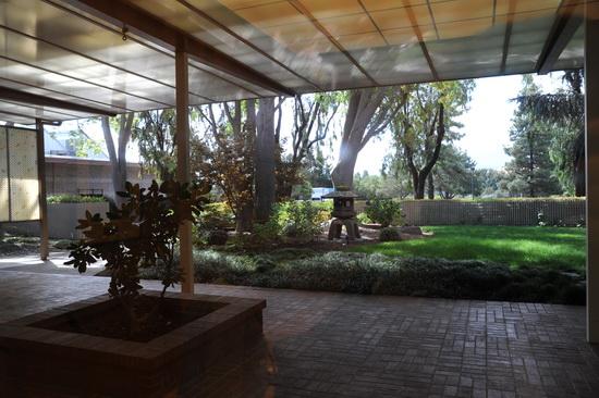 Японский сад – подарок японского офиса Hewlett-Packard