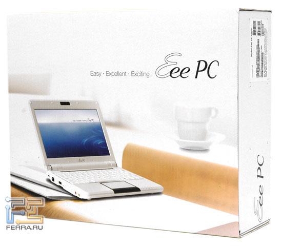 ASUS Eee PC 1000: коробка