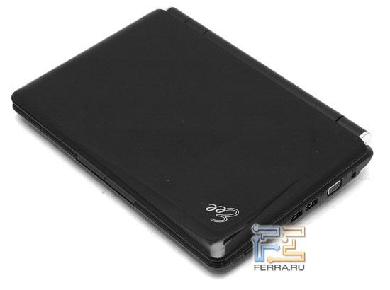 ASUS Eee PC 1000: внешний вид в закрытом состоянии