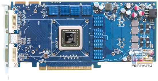 Печатная плата Sapphire HD 4850 Toxic 512MB DDR3