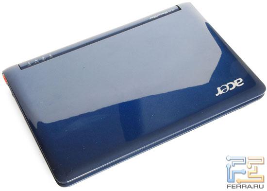 Acer Aspire One: внешний вид в закрытом состоянии