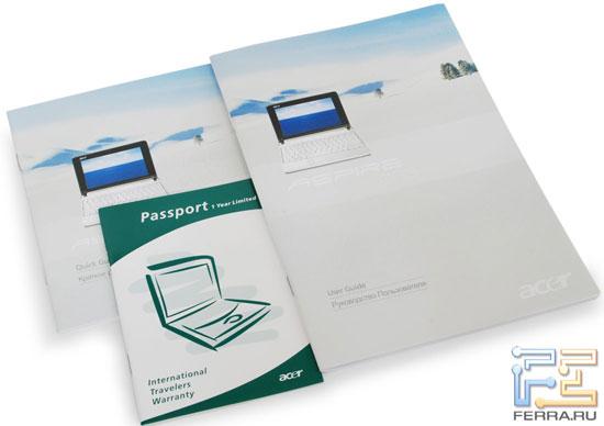 Acer Aspire One: документация