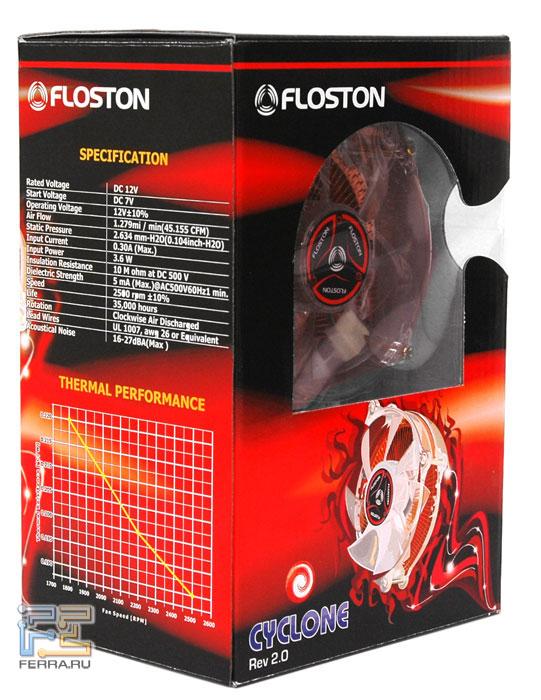 Упаковка Floston Cyclone - достойная и