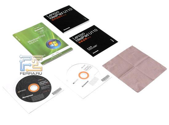 Lenovo IdeaPad U110: комплектация