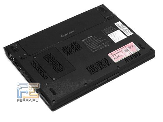 Lenovo IdeaPad U110: днище