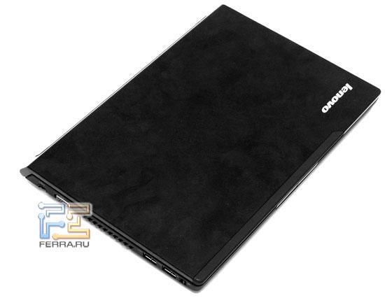 Lenovo IdeaPad U110: внешний вид в закрытом состоянии