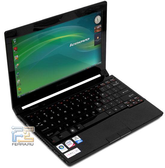 Lenovo IdeaPad U110: внешний вид в открытом состоянии