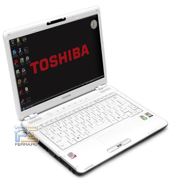 Toshiba Portege M800: внешний вид в открытом состоянии