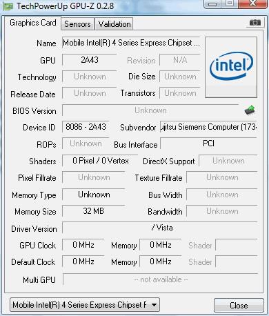 Программа Intel Graphics Media Accelerator