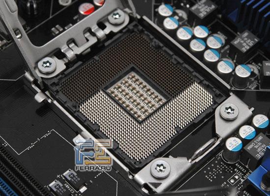 Процессорный разъем LGA1366