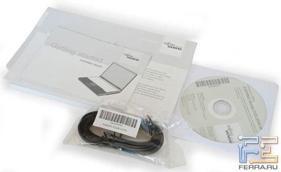 Fujitsu Siemens ESPRIMO V5535: комплектация