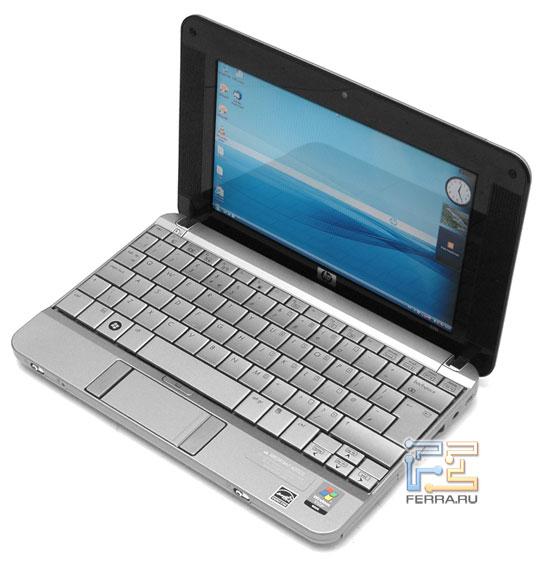 HP Mini-Note PC 2133: внешний вид в открытом состоянии