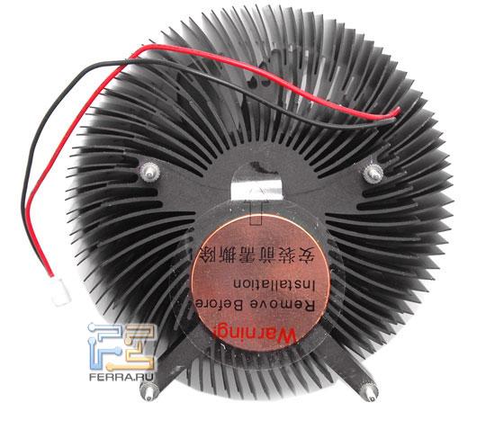 Кулер Floston FVC350HC: вид снизу