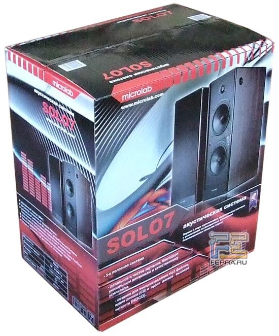 Упаковка Solo7