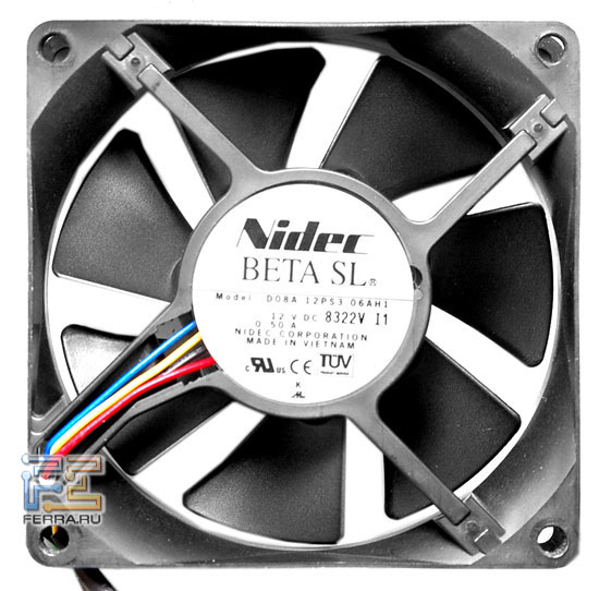 Вентилятор с ШИМ-управлением Nidec Beta SL D08A-12PS3