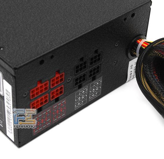 Дополнительные разъемы Lian Li Silent Force PS-S850GE