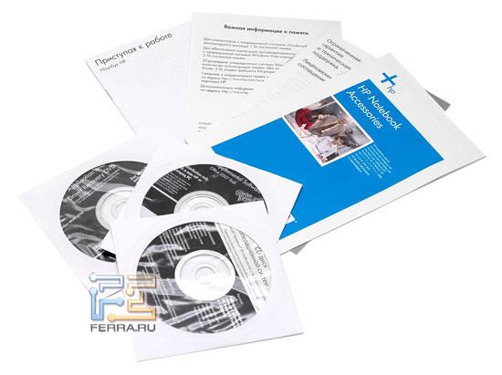 HP Compaq 6730b: комплектация