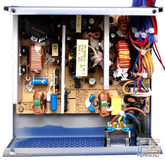 Монтаж платы Blue Storm II 400W 1