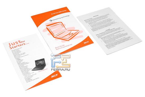 Acer Extensa 5630G: �������� ��������