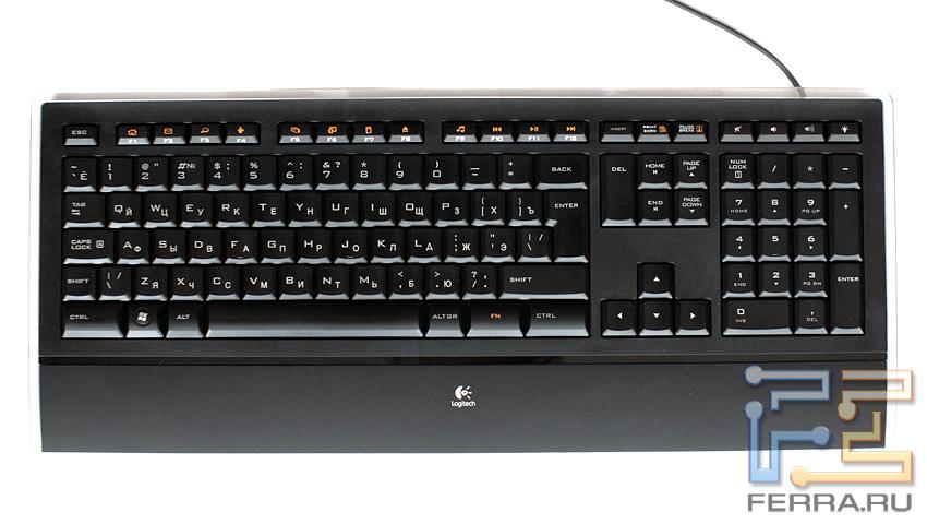 клавиатура с подсветкой logitech