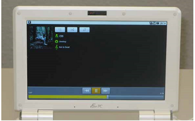 Asus EEE 1000H с Android