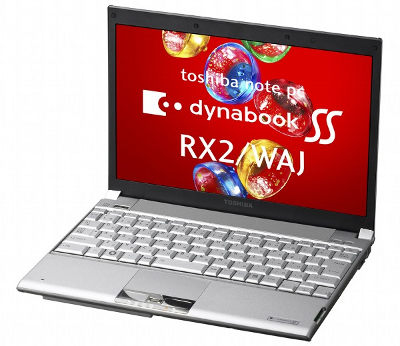 Toshiba Dynabook SS RX2/WAJ