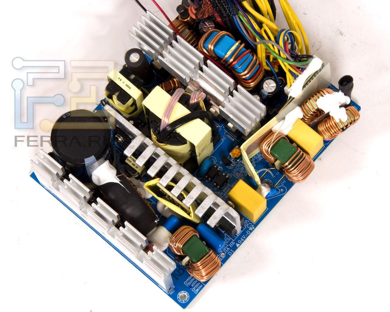 Ferra ru тестируем блок питания powercolor pfg