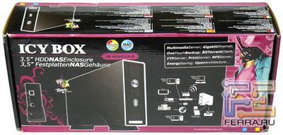 Упаковка RaidSonic ICY BOX IB-NAS4210-B, превью