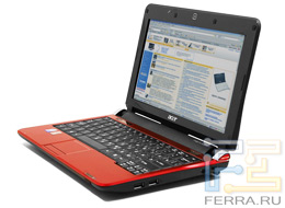 Acer Aspire One Red
