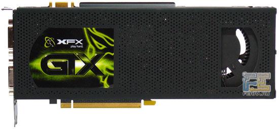 Видеокарта XFX GF GTX295 576M, превью 1
