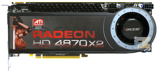 Видеокарта Force3D Radeon HD 4870 X2, превью 1