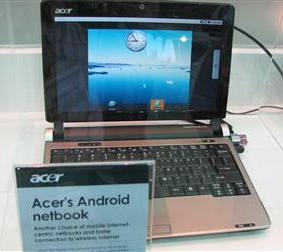 Нетбук Acer Android