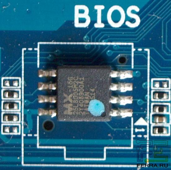 Фото микросхемы BIOS