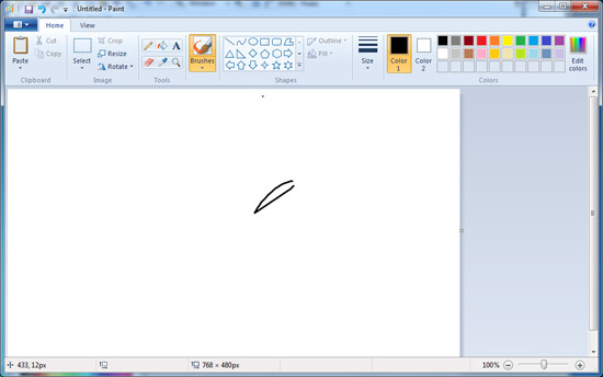 Paint �� Windows 7