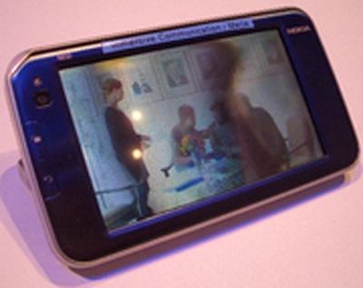 Nokia N810 с 3D-дисплеем