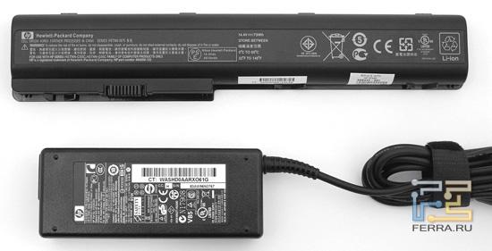 Батарея и БП HP Pavilion dv7