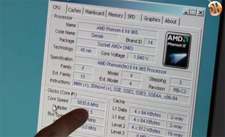 AMD Phenom II X4 965 BE C3