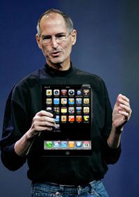 Стив Джобс и планшет
