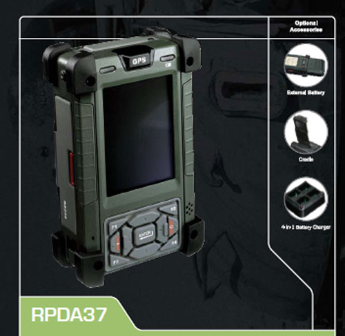 AIS Ultra Rugged Mobile PDA