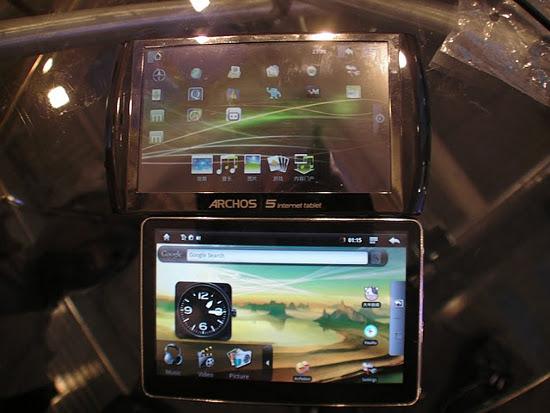 Hott MD500 � Archos 5 Internet Tablet