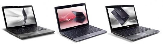 Acer TimelineX 3820T, 4820T � 5820T