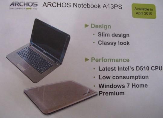 Archos A13PS
