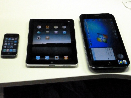 iPhone 3GS, iPad � iiView M1Touch
