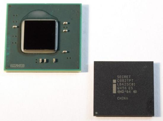Двухъядерный Intel Atom