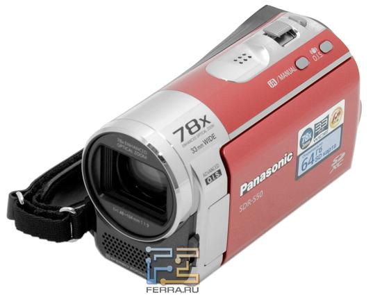 Дизайн Panasonic SDR-S50