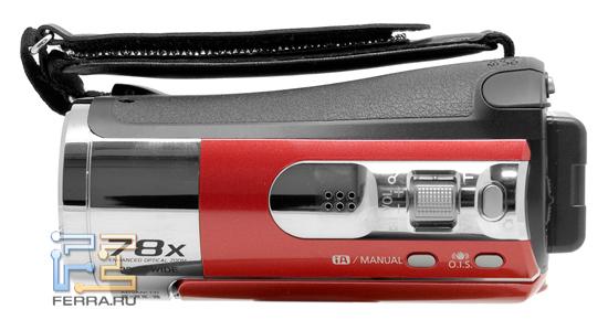 Верхняя доля корпуса Panasonic SDR-S50