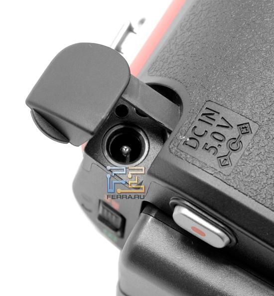 Подключение блока питания Panasonic SDR-S50