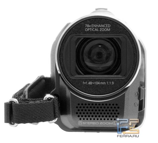Зум Panasonic SDR-S50