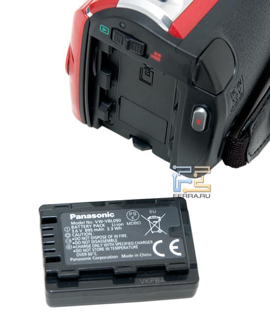 Аккумуляторная батарея Panasonic SDR-S50