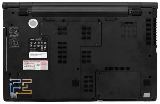 Нижняя часть корпуса Acer Aspire 8943G